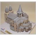 Vue générale maquette de l'Abbatiale Sainte Foy à Conques (12)