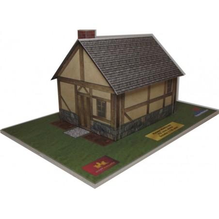 Maquette d'une Maison Typique Centre